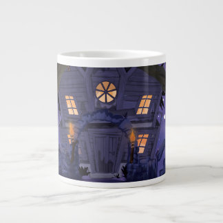 お化け屋敷 ジャンボコーヒーマグカップ