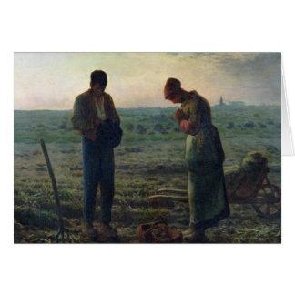 お告げの祈り1857-59年 カード