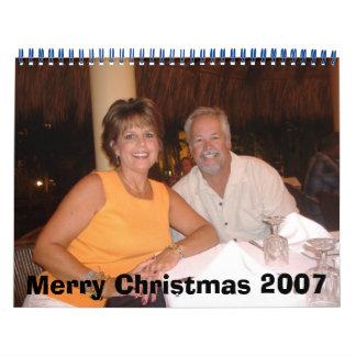 お母さんおよびパパのクリスマス07 カレンダー