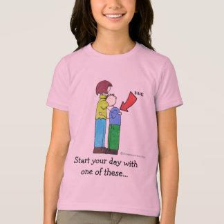お母さんおよびJoeyの抱き締めること Tシャツ