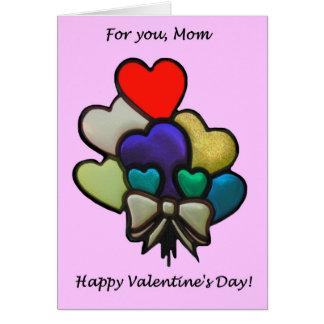 お母さんのためのバレンタイン カード
