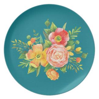 お母さんのための花束 ディナー皿