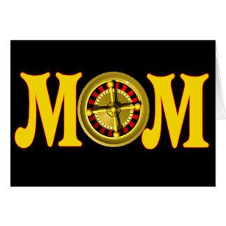 お母さんのための賭博のTシャツそしてギフト カード