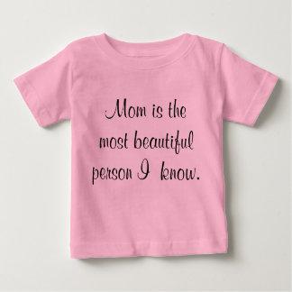 お母さんのため ベビーTシャツ