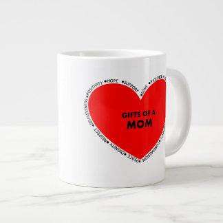 お母さんのギフト ジャンボコーヒーマグカップ