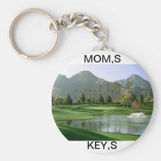 お母さんのゴルフKEYCHAIN キーホルダー
