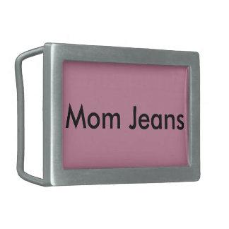 お母さんのジーンズのベルトの留め金 長方形ベルトバックル