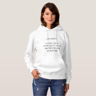 お母さんのスエットシャツからの単語 パーカ