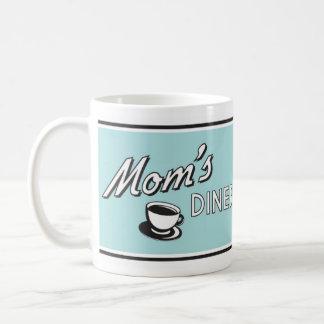 お母さんのダイナーのマグのレトロのスタイルのデザイン コーヒーマグカップ