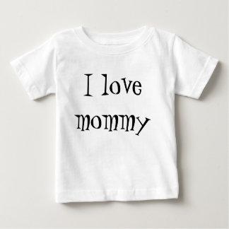 お母さんのトラップ ベビーTシャツ