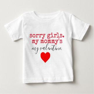 お母さんのバレンタイン ベビーTシャツ