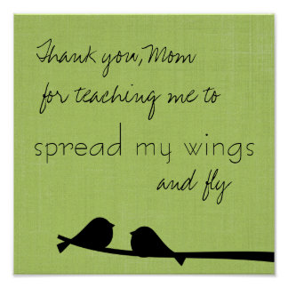 お母さんのプリントありがとう ポスター