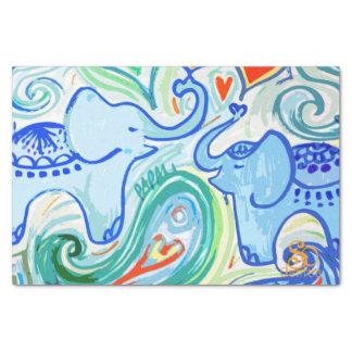 お母さんのベビー象のティッシュペーパー 薄葉紙