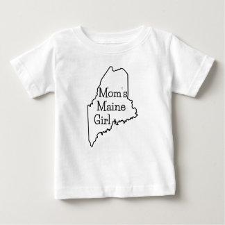 お母さんのメインの女の子 ベビーTシャツ