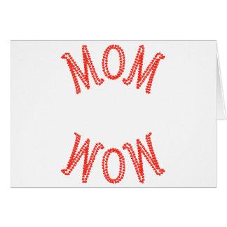 お母さんのワウ、母の日 カード