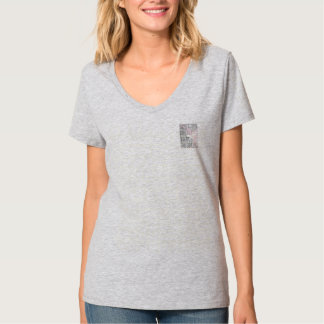 お母さんの分隊の灰色のティー Tシャツ