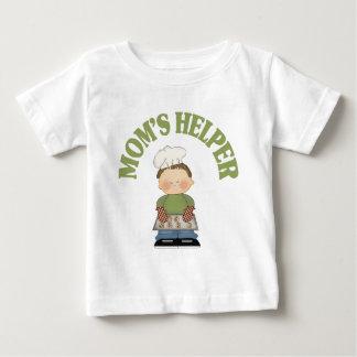 お母さんの助手 ベビーTシャツ