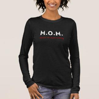 お母さんの多重タスク処理 長袖Tシャツ