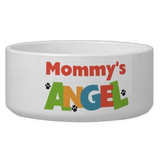 お母さんの天使ペット皿