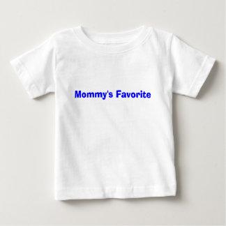 お母さんの好みの前部 ベビーTシャツ