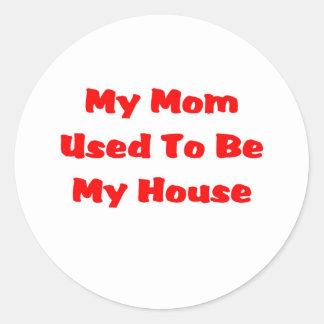 お母さんの家 ラウンドシール
