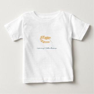 お母さんの小さいエビ ベビーTシャツ