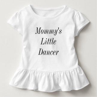 お母さんの小さいダンサー トドラーTシャツ
