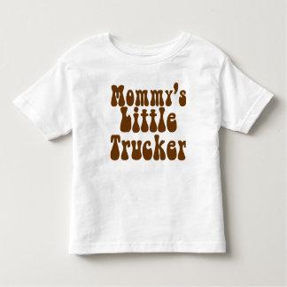 お母さんの小さいトラック運転手 トドラーTシャツ