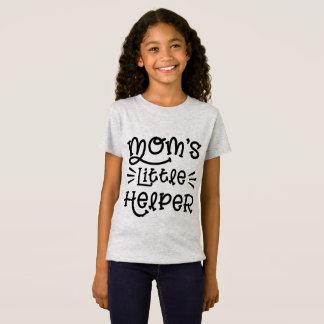 お母さんの小さい助手かわいい手の教養がある原稿 Tシャツ