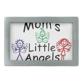 お母さんの小さい天使 長方形ベルトバックル
