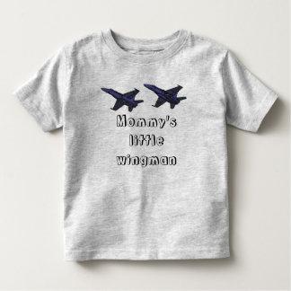 お母さんの小さい操縦者 トドラーTシャツ