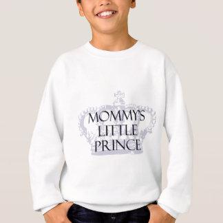 お母さんの小さい王子 スウェットシャツ