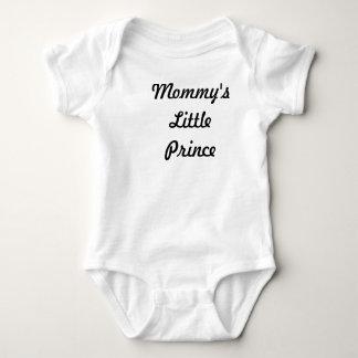 お母さんの小さい王子 ベビーボディスーツ