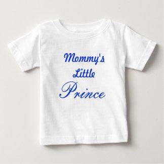 お母さんの小さい王子 ベビーTシャツ