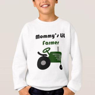 お母さんの小さい農家 スウェットシャツ