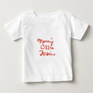 お母さんの少し天使 ベビーTシャツ
