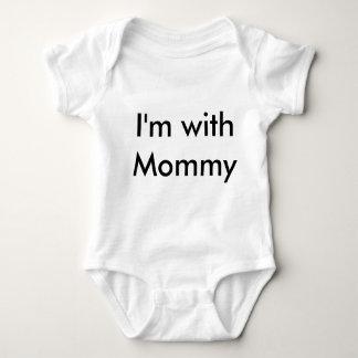 お母さんの幼児 ベビーボディスーツ