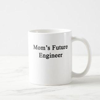 お母さんの未来のエンジニア コーヒーマグカップ