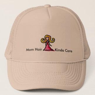 お母さんの毛のちょっと心配の帽子 キャップ