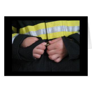 お母さんの消防士 カード