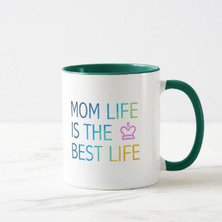 お母さんの生命 マグカップ