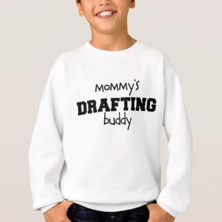 お母さんの起草の相棒 スウェットシャツ