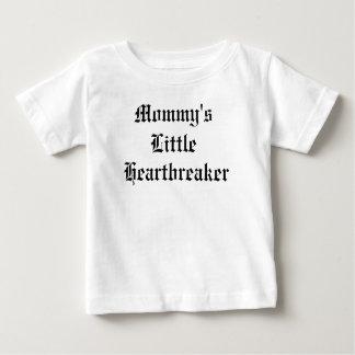お母さんのLitt; eのハートブレーカー ベビーTシャツ