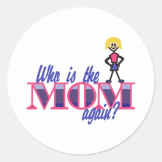 お母さんはだれであるか ラウンドシール