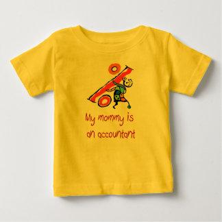お母さんは会計士のベビーのワイシャツです ベビーTシャツ