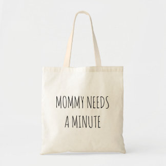 お母さんは微細なトートを必要とします トートバッグ