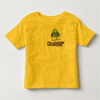 お母さんは打ち上げを作りました! ベッドの幼児のTシャツ トドラーTシャツ