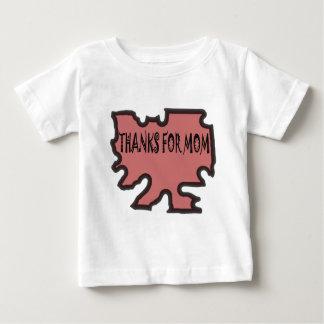 お母さんをありがとう ベビーTシャツ