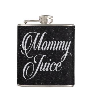 お母さんジュースの粋な女の子夜おもしろい フラスク