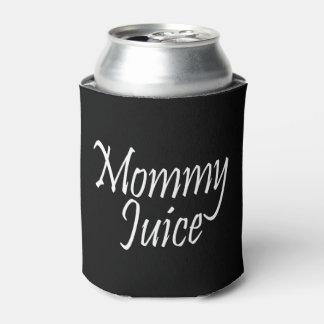 お母さんジュースの粋な女の子夜おもしろい 缶クーラー